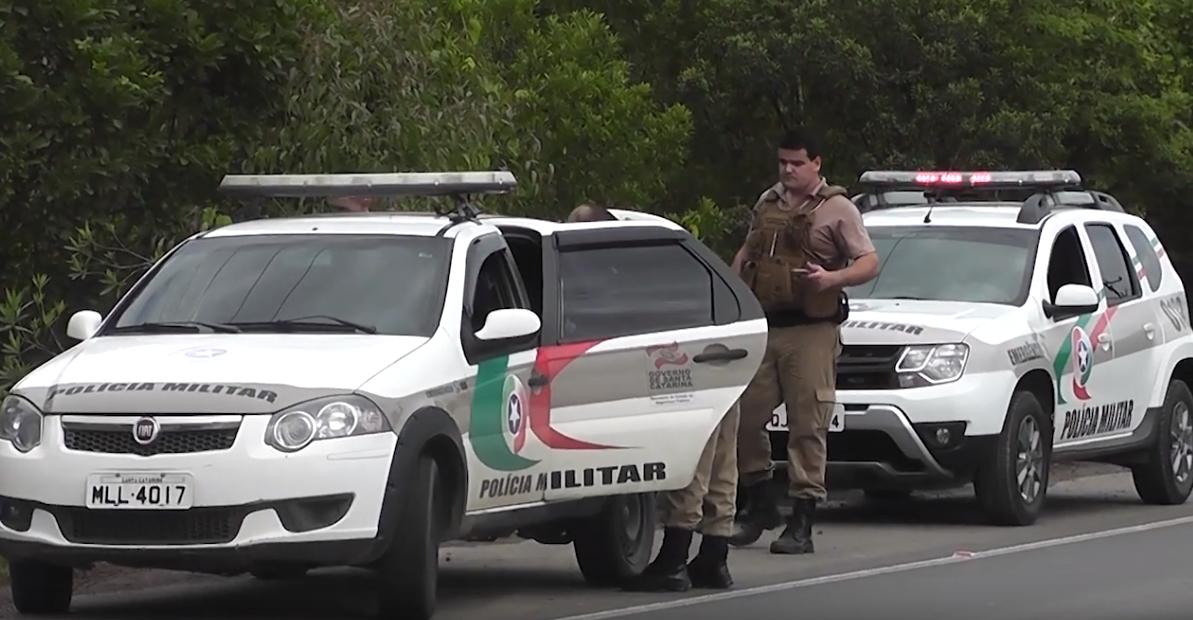 Após tentativa de fuga, homem é preso