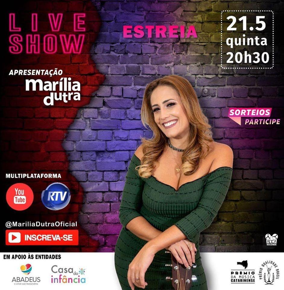 Estreia Live Show Marília Dutra
